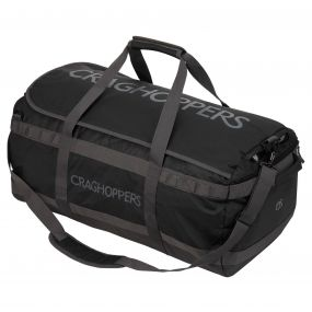 Craghoppers 90 Litre Longhaul Holdall Black / Quarry Grey