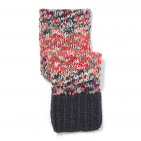 Craghoppers Kids Rainbow Scarf Charcoal Combo
