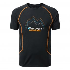 Craghoppers Discovery Adventures Short Sleeved T-Shirt Black