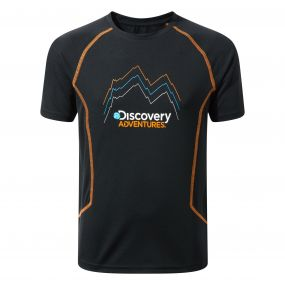 Craghoppers Discovery Adventures Short-Sleeved T-Shirt Black