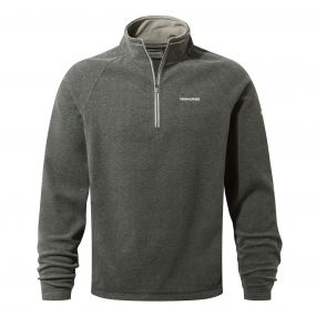 Craghoppers Selby Half Zip Fleece Black Pepper Marl