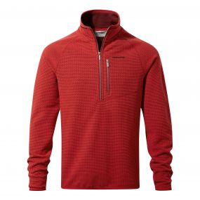 Craghoppers Liston Half Zip Barn Red