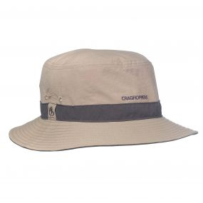 Craghoppers NosiLife Jungle Hat Pebble Pepper