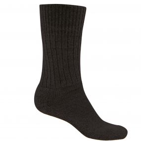 Craghoppers Mens Hiker Sock Black Pepper Marl