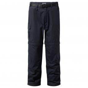 Craghoppers Kiwi Convertible Trousers Dark Navy