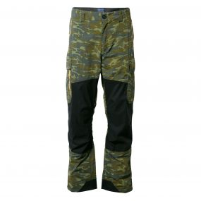 Craghoppers Discovery Adventures Trousers Dark Moss Combo