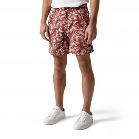 Craghoppers Whitehaven Shorts Red Earth Print
