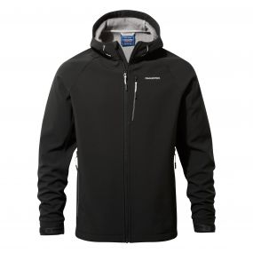 Craghoppers Discovery Adventures Hooded Windshield Jacket Black