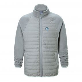 Craghoppers Discovery Adventures Hybrid Jacket Quarry Grey