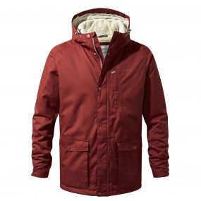 Craghoppers Kiwi Classic Thermic Jacket Red Earth