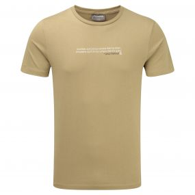 Craghoppers Graphic Tee Sand