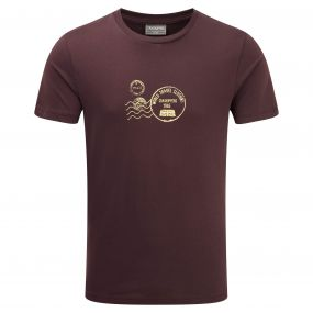 Craghoppers Graphic Tee Merlot