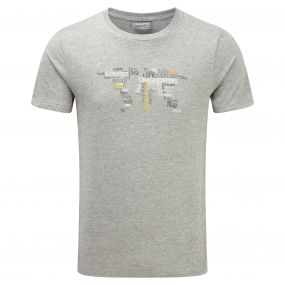 Craghoppers Graphic Tee Grey Marl GM