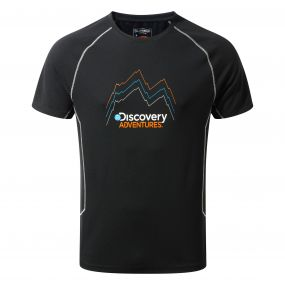 Craghoppers Discovery Adventures Short-Sleeved Tee Black