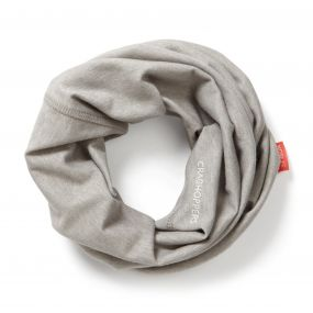 Craghoppers NosiLife Tube Scarf Soft Grey Marl