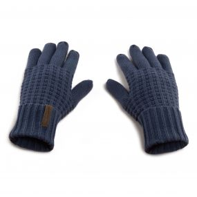 Craghoppers Brompton Gloves Soft Navy