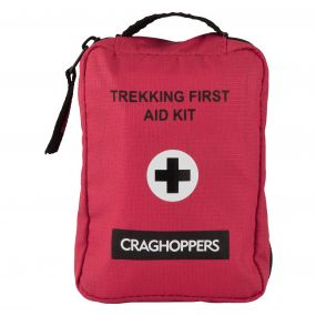 Craghoppers Trekking First Aid Kit Red