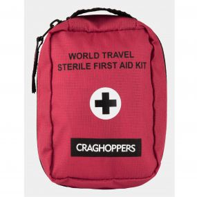 Craghoppers Sterile First Aid Red