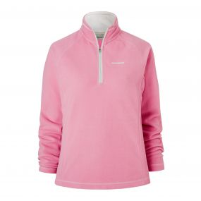 Craghoppers Seline Half Zip Fleece English Rose