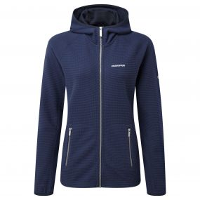 Craghoppers Hazelton Hooded Jacket Night Blue