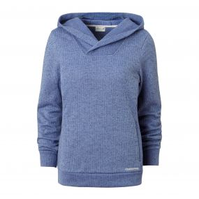 Craghoppers Callins Hooded Top China Blue Marl