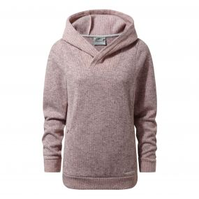 Craghoppers Callins Hooded Top Blossom Pink Marl