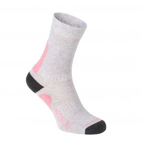 Craghoppers NosiLife Adventure Sock Soft Grey Marl