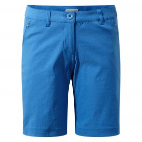 Craghoppers Kiwi Pro Stetch Shorts Bluebell