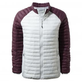 Craghoppers VentaLite II Jacket Dove Grey / Winterberry