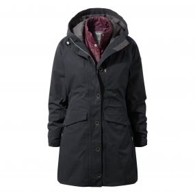Craghoppers 365 3in1 Jacket Black / Winterberry