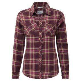 Craghoppers Valemont Shirt Rioja Red