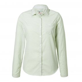 Craghoppers NosiLife Adoni Long Sleeved Shirt Bush Green