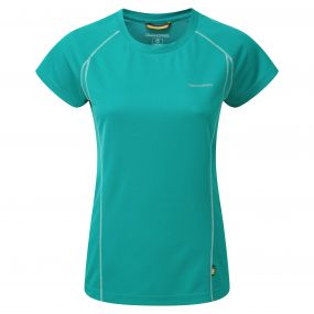 Craghoppers Vitalise Base T-Shirt Bright Turquoise