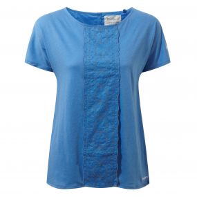 Craghoppers Connie Short Sleeved Top Bluebell