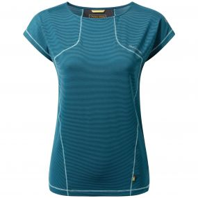 Craghoppers Fusion T Shirt Forest Teal