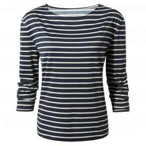Craghoppers Delamere Long-Sleeved Top Soft Navy Combo