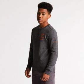 Dare 2B Kids Strungout Sweater Charcoal Grey