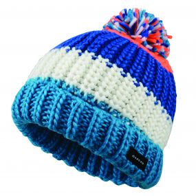 Dare2b Kids Lineation Beanie Hat Oxford Blue