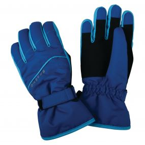 Dare2b Kids Flag Down II Ski Gloves Oxford Blue