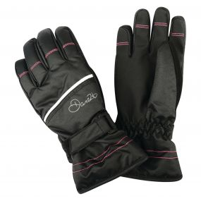 Dare2b Kids Hand Pick II Ski Gloves Black