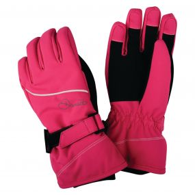 Dare2b Kids Instruct Gloves Cyber Pink