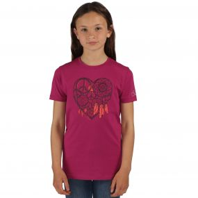 Dare2b Luck ofthe Draw T-Shirt Camellia Purple