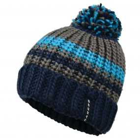 Dare2b Men's Rule Out Beanie Hat Admiral Blue