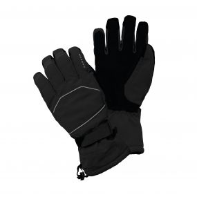 Dare2b Men's Clinched Ski Gloves Black