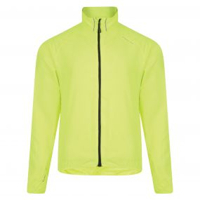 Dare2b Fired Up Windshell Jacket Fluro Yellow