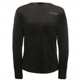 Dare2b Men's Insulate Long Sleeve Base Layer Top Black