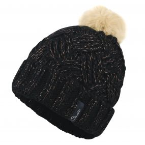 Dare2b Women's Sheen Beanie Hat Black