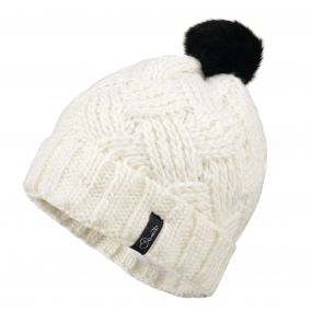 Dare2b Women's Sheen Beanie Hat White