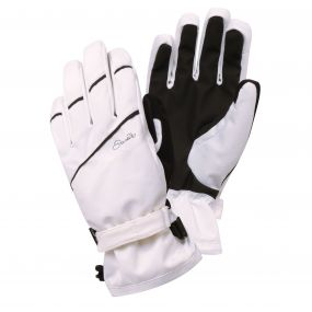 Women's Grapple Ski Gloves White