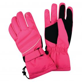 Dare2b Women's Summon II Ski Gloves Cyber Pink